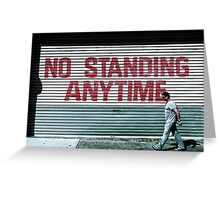 Marching Orders Greeting Card