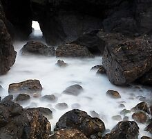 sea cave by codaimages