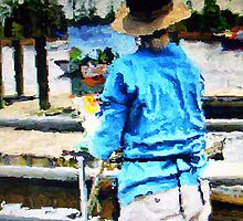 Artist on the Riverwalk by suzannem73