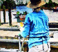 Artist on the Riverwalk by suzannem73