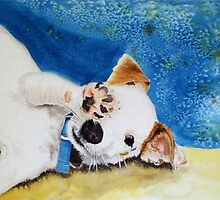 Junior the Jack Russell Terrier by Yvonne Carter