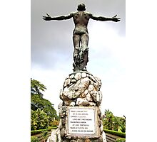 University of the Philippines Oblation (rear view) Photographic Print