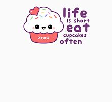 Life is Short Womens Fitted T-Shirt