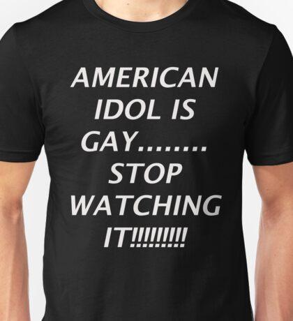 I Hate the Idol Thing Unisex T-Shirt