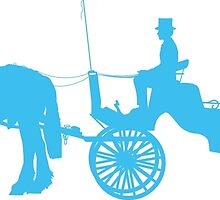 Horse and Buggy by Maria Bell