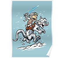 Calvin and Hoth Poster