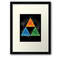 Zelda - Triforce Framed Print