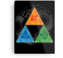 Zelda - Triforce Metal Print