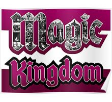 Attractions of Magic Kingdom Poster