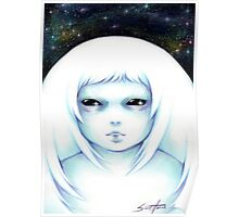 Space Girl Poster