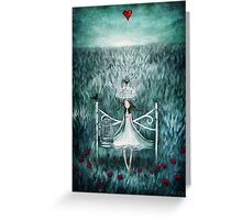 love watches over me Greeting Card