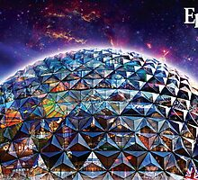 Attractions of Epcot by brerdoug