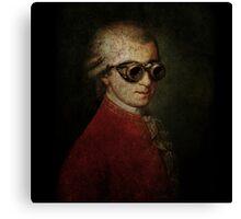 Steampunk Mozart Canvas Print