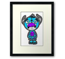 The Scare Station! Sully Solo Framed Print