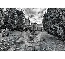 St helen's, Darley Dale Photographic Print