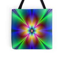 Neon Daisy Tote Bag