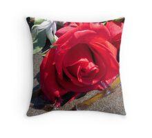 Ocean Roses Throw Pillow