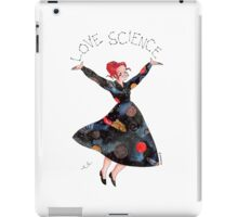Miss Frizzle loves science iPad Case/Skin