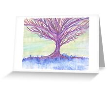 Lonely Contemplation Greeting Card