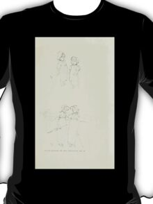 De Lebris Prose and Verse Tomson Hugh and Kate Greenaway 1909 0119 Pencil Sketches 1 T-Shirt