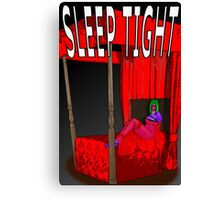 sleep tight Canvas Print