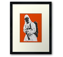 Why are the good people dying? Framed Print