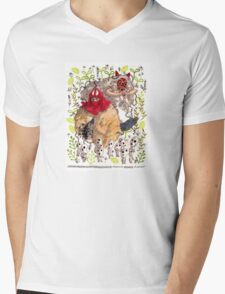 Tribute to Princess Mononoke Mens V-Neck T-Shirt