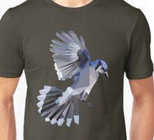 Geometric Blue Jay  Unisex T-Shirt