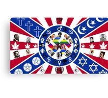 Offensive Flag Canvas Print