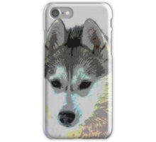 Retro Husky  iPhone Case/Skin