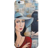Lady Catrina iPhone Case/Skin