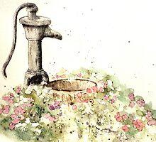 The garden, where Peace and Calm flourish by ArtByDrax