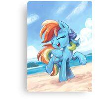 Rainbow Dash Rainbow Dance  Canvas Print