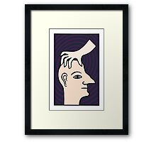 A hat by another name Framed Print