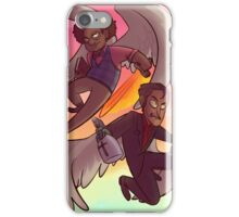 Az and Crowley iPhone Case/Skin