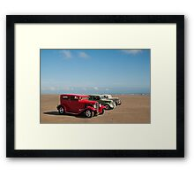 Line up  Framed Print