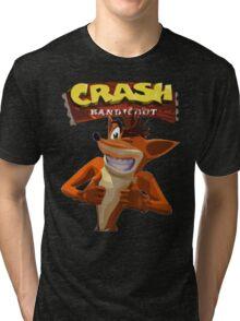 Crash Bandicoot Tri-blend T-Shirt