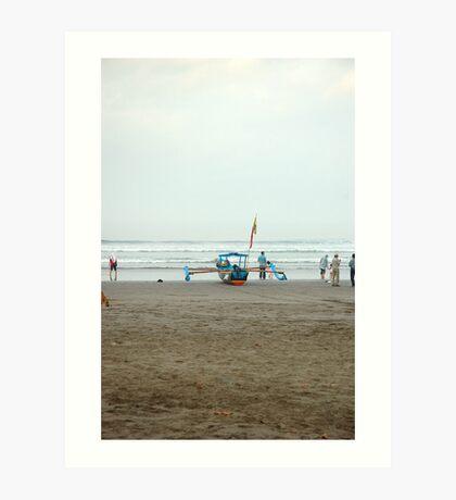 pangandaran beach Art Print