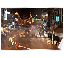Haridwar: The busy streets Poster
