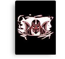 Shadow of Zed Canvas Print