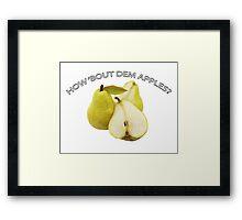 DEM APPLES Framed Print
