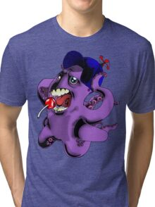 Flight of the Octopus - Boys' Version Tri-blend T-Shirt
