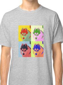Retro Husky  Classic T-Shirt