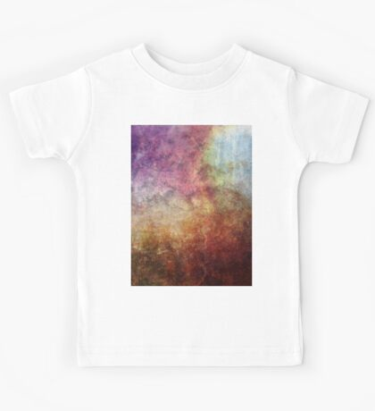 Glory Oil Abstract Painting Kids Tee