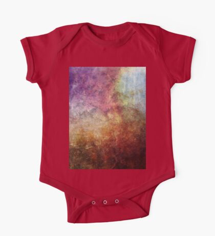 Glory Oil Abstract Painting One Piece - Short Sleeve