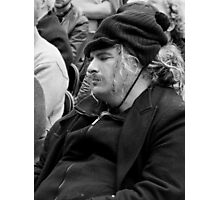 Snoozing Anarchist Photographic Print
