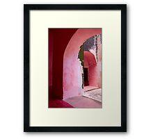 Valladolid Arcade Framed Print