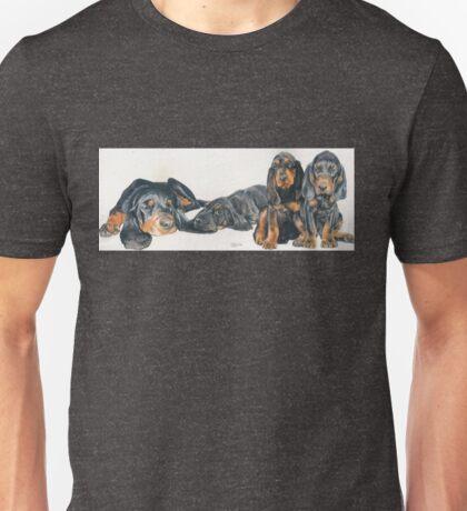 Black & Tan Coonhound Puppies Unisex T-Shirt