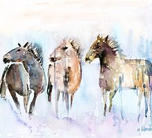 Wild And Free by arline wagner