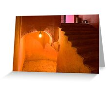 Convent Stair Greeting Card